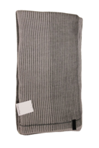 Calvin Klein Men's Light Gray Ribbed Scarf - $27.23