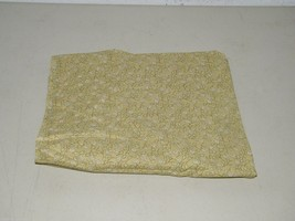 Retro Look Dusty Green Floral Quilting Cotton 1 Yard Smoky Calico 17208 - $13.99
