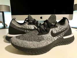 Nike Epic React Flyknit Running Shoe Cookies Cream AQ0070-011 Womens Siz... - $98.18