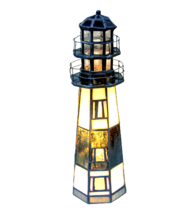 "9.5""H  The Lighthouse on Montauk Point Accent Lamp - 20537 - $138.60"