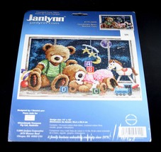 Janlynn Goodnight Bears Counted Cross Stitch Kit 195-0600 New 2003 - $16.78