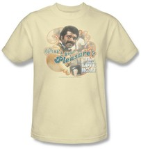The Love Boat T-shirt Issac the Bartender CBS287 70s retro beige graphic tee image 2