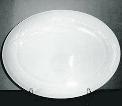 "Michael Aram Garland Romance Oval Serving Platter by Waterford 14.5"" New - $108.90"