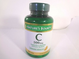 Nature's Bounty C 500 mg 250 Tablets 23-N - $10.89