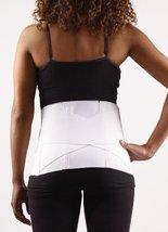 Corflex Criss-Cross Back Support Belt for Back Pain-XL - White - $37.63