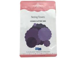 QuicKutz Cookie Cutter Dies - Nesting Flowers 6 Dies #CC-FLOWERS-01