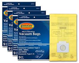 EnviroCare Replacement Micro Filtration Vacuum Bags for Kenmore Canister... - $29.76
