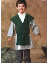 Simplicity Sewing Pattern 1037 Ninja and Space Warrior Costumes Size 3-8... - $17.46