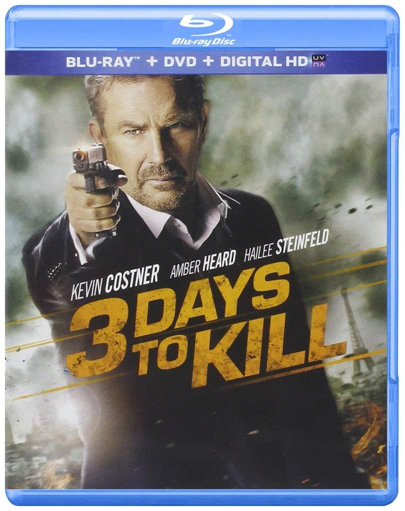 3 Days to Kill [Blu-ray + DVD]
