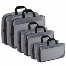 Compression Packing Cubes Travel Organizer (6) Set, Expandable Bag For L... - $41.99