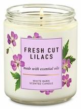 Bath & Body Works Fresh Cut Lilacs 1 Wick Scented Candle 7 oz - $18.69