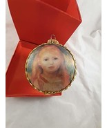 Vintage Krebs Masters on Silk Glass Ornament 2019 Made in Germany - $19.79