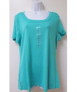 Women's Blue Blouse by Allison Brittney Size 2X - $4.74