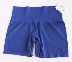 Yummie By Heather Thomson Nina Shaping Shortie Size L/XL YT5-004 NAVY BLUE - $13.83