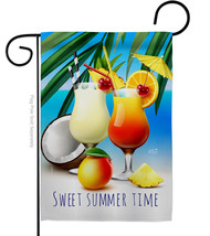 Sweet Cocktail - Impressions Decorative Garden Flag G135471-BO - $19.97