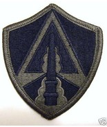 ARMY SPACE COMMAND SUBDUED PATCH :MD10-1 - $2.00
