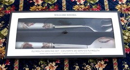 Williams Sonoma Plymouth Turkey New Serving Set Spoon & Fork Thanksgiving - $29.99