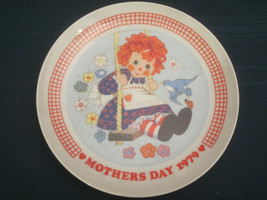 Raggedy Ann Collector Plate 1979 Mother's Day Schmid Doll - $6.99