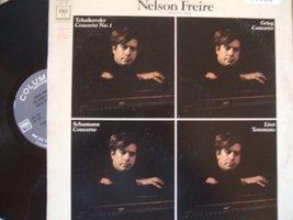 Nelson Freire U.S. Debut Recording [Vinyl] Tchaikovsky; Grieg; Schumann and Lisz