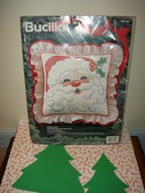 Bucilla Christmas Santa Face Cross Stitch Kit - $21.99