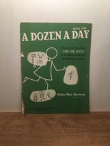 A Dozen A Day, Book One By Edna-Mae Burnam PB, 1950 - $10.88