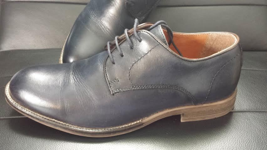 4facfd9a438 Alfani Mens Size 7 Blue Leather Oxfords and 31 similar items. S l1600