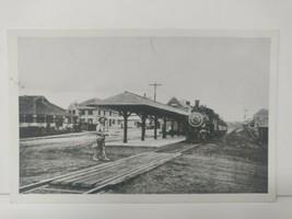1912 RPPC Postcard Railroad Station Depot Monument Beach  Massachusetts ... - $25.18