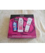 Olay Body Wash Body Lotion & Deodorant Berry Fresh Gift Pac - $19.68