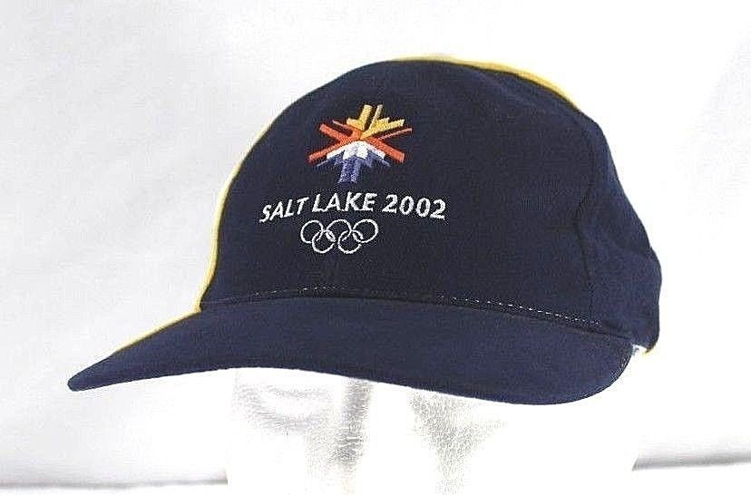74c8789a09c Olympic 2002 Salt Lake City Games Blue White Baseball Cap Adjustable Strap  -  24.99 · Advanced search for American Needle Hat