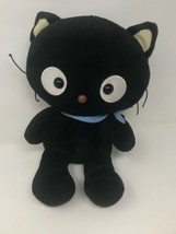 "Limited Edition Sanrio 17"" Chococat Black Cat Build A Bear Plush Hello Kitty - $34.64"