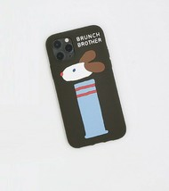 Brunch Brother Dog iPhone 11 Pro Slim Silicone Case Cover Protector Accessory image 3