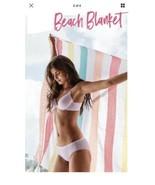 Victoria's Secret Pink VS Summer Vibe Tassle Fringed Beach Blanket Throw, NEW - $29.92