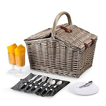 Picnic Time Piccadilly Picnic Basket For Two, Anthology Collection - $1.317,56 MXN