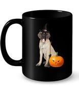 English Mastiff Witch Hat Halloween Dog Ceramic Mug - $13.99+