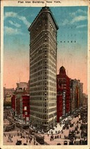 VINTAGE POSTCARD- THE FLAT IRON BUILDING, NEW YORK CITY, NY  BK21 - $2.94