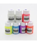 Face Body Paint Neon Fluorescent UV Grow In The Dark Luminous Acrylic Ar... - $13.99+