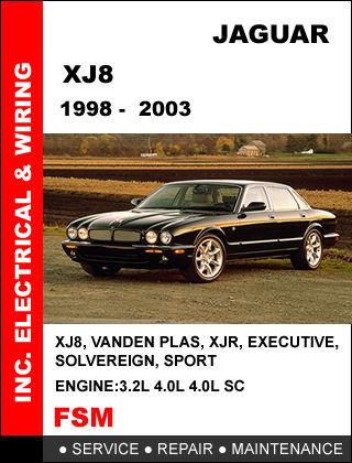 JAGUAR XJ XJ8 XJR 1998 - 2003 FACTORY SERVICE REPAIR MANUAL ACCESS IT IN 24 HR