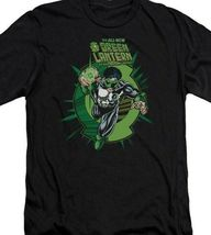 DC Comics Rayner Green Lantern Corps retro comics graphic black t-shirt GL273 image 3