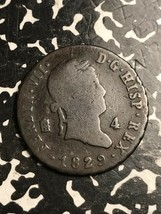 1829 Spagna 4 Marevedis Lotto #X5412 - $14.00