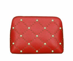 Kate Spade New York Womens Small Briley Cosmetic Case (Dark Red) - $81.49