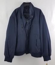 Calvin Klein Men's Full Zip Ripstop Bomber Jacket Atlantic Blue 4XL CMB0... - $99.99