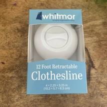 Whitmor 12 Foot Retractable Clothesline - $15.83