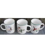 Hummingbird Coffee Cups Mugs National Wildlife Federation 3 Different - $24.00