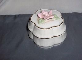 Heritage House Celebration Of Love Porcelain Music Trinket Box Somewhere My Luv - $24.99
