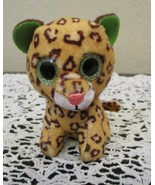 McDonald's Ty Teenie Boos Freckles the Leopard Green Sparkle Eyes NO BAG... - $6.67