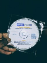EPSON Stylus C60 Series Printer Software Drivers and Utilities Disc - $18.69