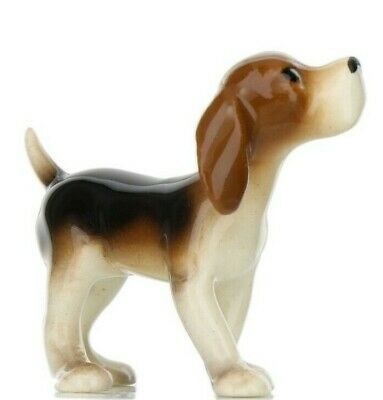 Hagen Renaker Miniature Dog Beagle Ceramic Figurine