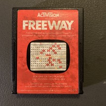 ATARI 2600 Freeway tested video game cartridge Activision chicken cross road  - $1.99