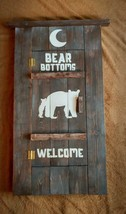 Rustic Bathroom Decor - Bear Bottoms Welcome Sign - $61.70