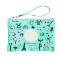 Lovely Streets fourre-Tout Sketch The World Paris, Cuir, Multicolore, 19... - $32.11